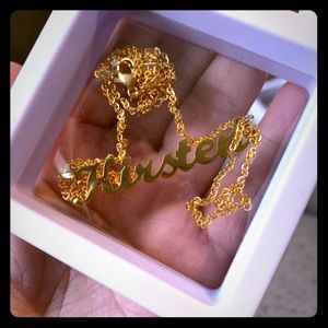 "Jewelry - ""Kirsten"" Name Necklace"